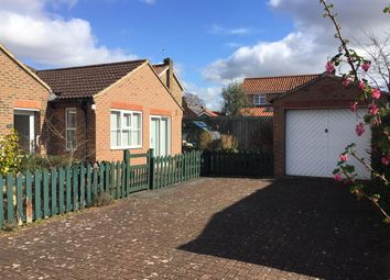 Thumbnail 2 bed semi-detached bungalow for sale in Carpenters Court, Easingwold, York