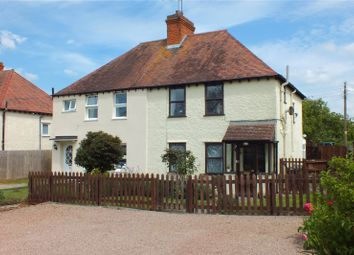 Thumbnail 3 bed semi-detached house for sale in Pitchers Hill, Wickhamford, Evesham, Worcestershire