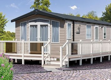 Thumbnail 3 bed mobile/park home for sale in Showground Bordeaux, Weymouth Bay Holiday Park