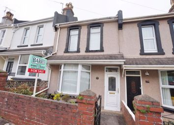 Thumbnail 3 bed terraced house for sale in York Road, Paignton