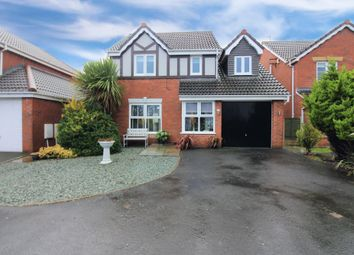 Thumbnail 4 bed detached house for sale in Ivy Gardens, Thornton-Cleveleys