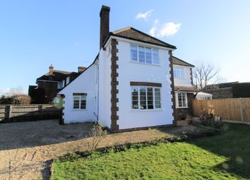 Thumbnail 3 bed detached house for sale in Clock House Close, Byfleet, Surrey