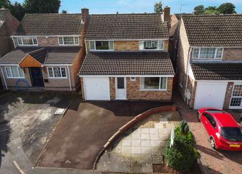 Thumbnail 3 bed detached house for sale in Marston Close, Oadby, Leicester