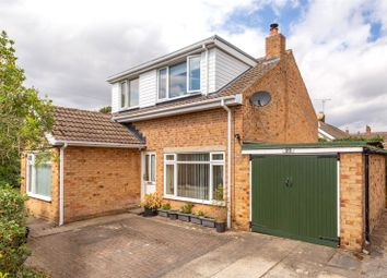 Thumbnail 4 bed detached bungalow for sale in Moorland Garth, Strensall, York