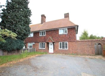 Thumbnail 3 bed cottage to rent in Wisley, Woking