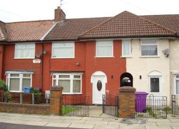 Thumbnail 3 bed terraced house to rent in Fairmead Road, Norris Green