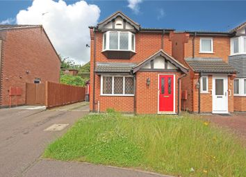 Thumbnail 3 bed detached house to rent in Sandhurst Gardens, Leicester