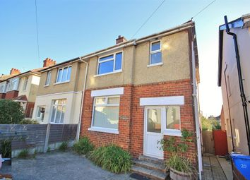 Thumbnail 3 bed semi-detached house for sale in Cranbrook Road, Parkstone, Poole