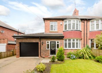 Thumbnail 3 bed semi-detached house for sale in Studley Villas, Newcastle Upon Tyne, Tyne And Wear
