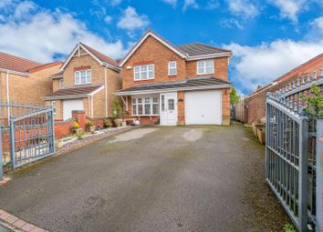 Thumbnail 3 bed detached house for sale in Stephenson Way, Hednesford, Cannock