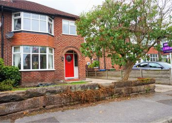 Thumbnail 3 bed semi-detached house for sale in Sandileigh Avenue, Altrincham