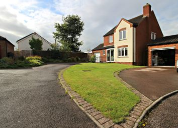 Thumbnail 4 bed detached house for sale in Parsons Croft, Hildersley, Ross-On-Wye