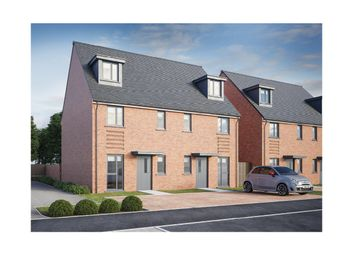 Thumbnail 3 bedroom link-detached house for sale in Manor Farm, Brooklands, Milton Keynes