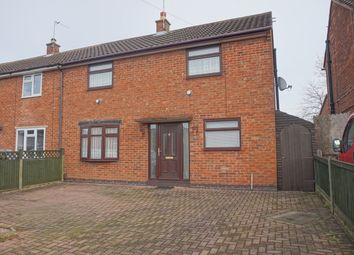 Thumbnail 2 bed semi-detached house for sale in Warwick Road, Wigston