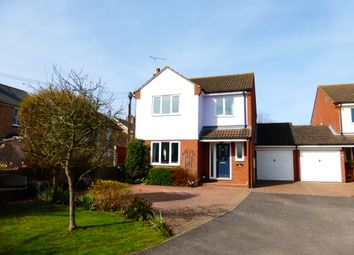 Thumbnail 4 bed detached house for sale in Kingfisher Way, Kelvedon, Colchester
