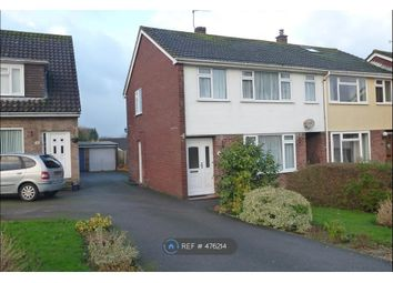 Thumbnail 3 bed semi-detached house to rent in Greenwood Road, Yeovil