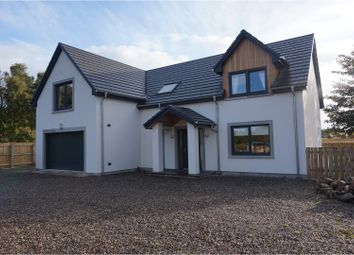 Thumbnail 4 bed detached house for sale in Scaniport, Inverness