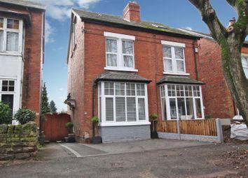 Thumbnail 4 bed semi-detached house for sale in Leonard Avenue, Sherwood, Nottingham