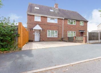 Thumbnail 5 bed semi-detached house for sale in Anstice Road, Madeley, Telford
