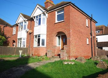 Thumbnail 3 bed semi-detached house for sale in Sandling Road, Saltwood, Hythe