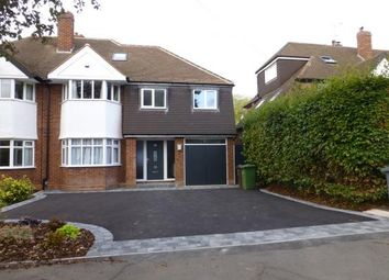 Thumbnail 6 bed semi-detached house to rent in Kingslea Road, Solihull, West Midlands