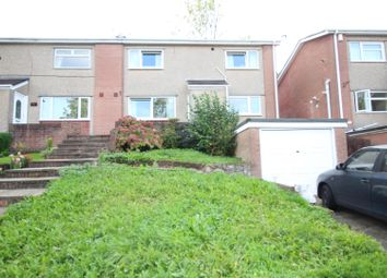 Thumbnail 4 bed semi-detached house for sale in Vale View, Risca, Newport