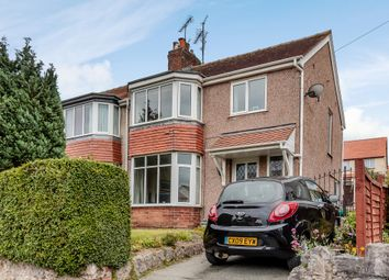 Thumbnail 3 bed semi-detached house for sale in Marine View, Rhos On Sea, Colwyn Bay