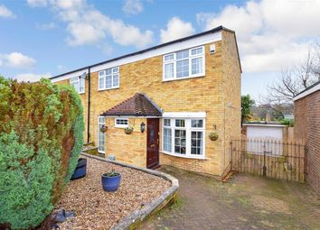 3 bed semi-detached house for sale in Rush Close, Walderslade, Chatham, Kent ME5