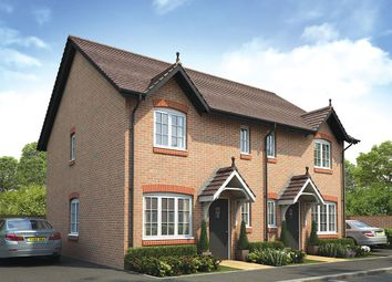"Thumbnail 3 bed semi-detached house for sale in ""The Middlesbrough"" at West Cross Lane, Mountsorrel, Loughborough"