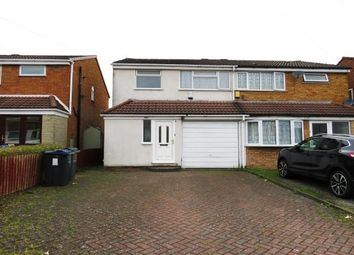 Thumbnail 3 bed semi-detached house to rent in Wellman Croft, Birmingham