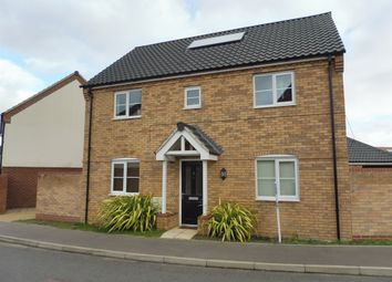 Thumbnail 4 bedroom detached house for sale in Prince William Way, Diss