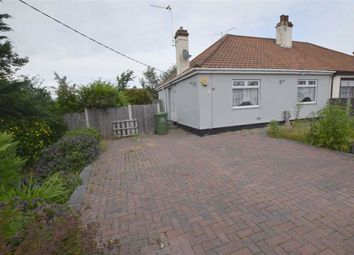 Thumbnail 2 bed semi-detached bungalow for sale in Rectory Gardens, Basildon, Essex