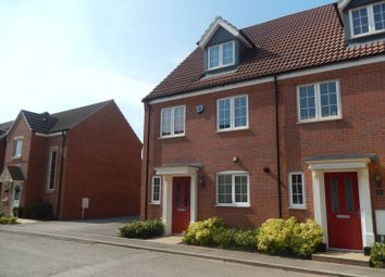 Thumbnail 4 bed semi-detached house to rent in Frome Gardens, Bingham, Nottingham