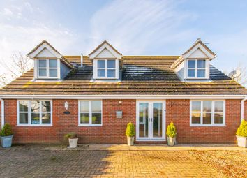 Thumbnail 4 bed detached house for sale in Haycroft Lane, Holbeach, Spalding