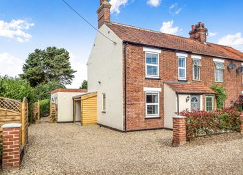 Thumbnail 2 bed end terrace house for sale in Mill Lane, Briston, Melton Constable