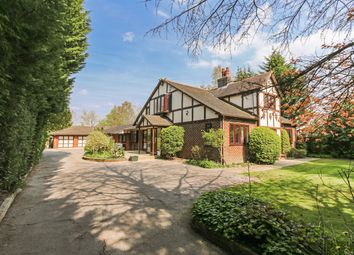 Thumbnail 5 bed detached house to rent in Adlington Road, Wilmslow