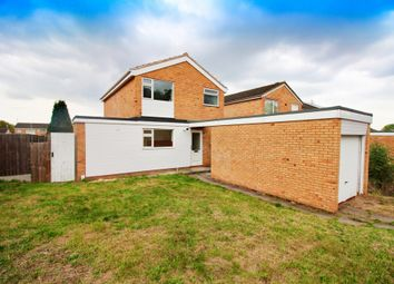 Thumbnail 3 bed detached house for sale in Milton Crescent, Leicester
