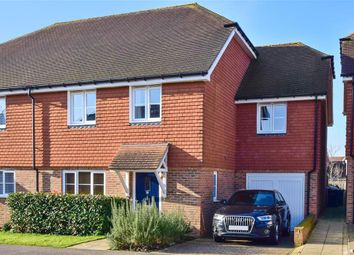 Thumbnail 4 bed semi-detached house for sale in Wickham Road, Holborough Lakes, Kent