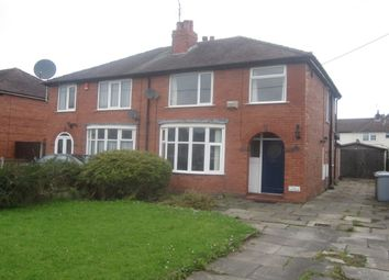 Thumbnail 3 bed semi-detached house for sale in Wistaston Green Road, Wistaston, Crewe