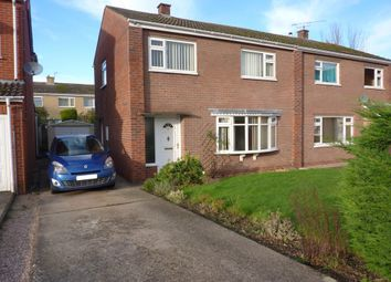 Thumbnail 3 bed semi-detached house to rent in Broseley Close, Shrewsbury