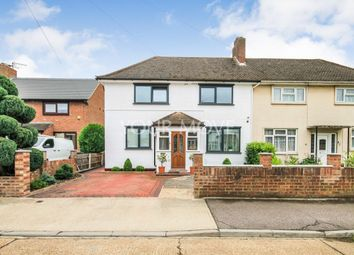 Thumbnail 3 bed semi-detached house for sale in Howe Close, Romford