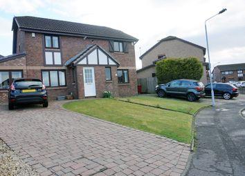 Thumbnail 3 bed semi-detached house for sale in Eden Gardens, Gardenhall, East Kilbride