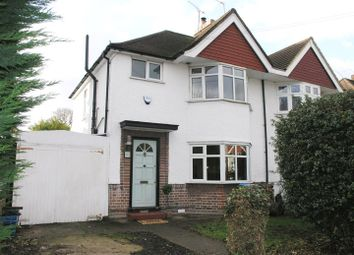 Thumbnail 3 bed semi-detached house for sale in Argyle Avenue, Whitton, Hounslow