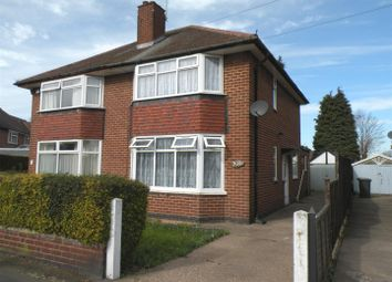 Thumbnail 2 bed semi-detached house to rent in Coleridge Street, Sunnyhill, Derby