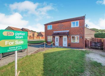 Thumbnail 2 bedroom semi-detached house for sale in Heol Ty Crwn, Caerphilly