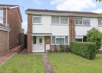 Thumbnail 3 bed semi-detached house for sale in Cranbourne Park, Hedge End, Southampton