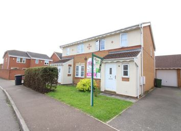 Thumbnail 3 bedroom semi-detached house for sale in Hawthorn Drive, Huntingdon