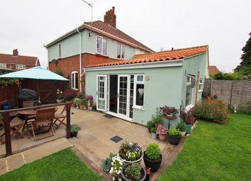 Thumbnail 3 bed semi-detached house for sale in Preston Avenue, Wymondham