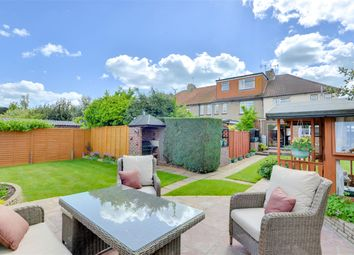 Thumbnail 3 bed semi-detached house for sale in Orchard Way, Lancing, West Sussex