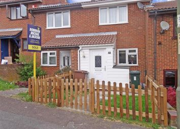 Thumbnail 2 bed terraced house for sale in Ramillies Close, Walderslade, Chatham, Kent
